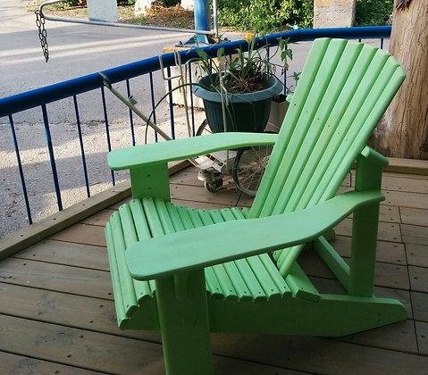 כיסא לגינה מעץ מלא