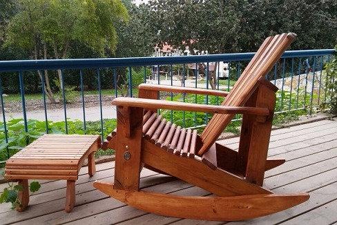 כיסא נדנדה למרפסת