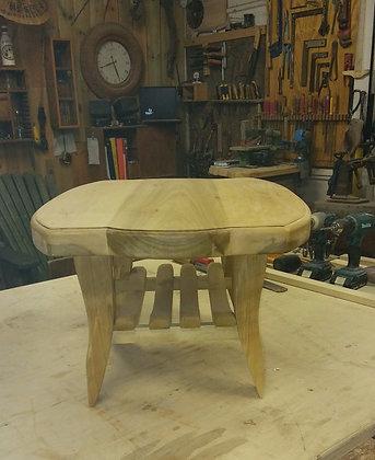 שולחן קפה גדול מעץ מלא