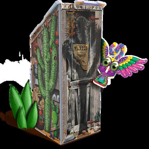 Deserted Desert Outhouse