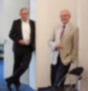 Friedhelm Enners und Hans-Heinrich Thormeyer