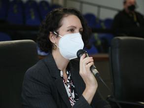 Fernanda Garcia envia requerimento sob protocolo COVID-19