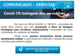 Fernanda contesta interrupção da testagem de Covid-19 em servidores públicos municipais