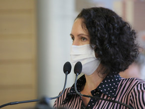 Fernanda Garcia se afasta de atividades presenciais por suspeita de Covid-19
