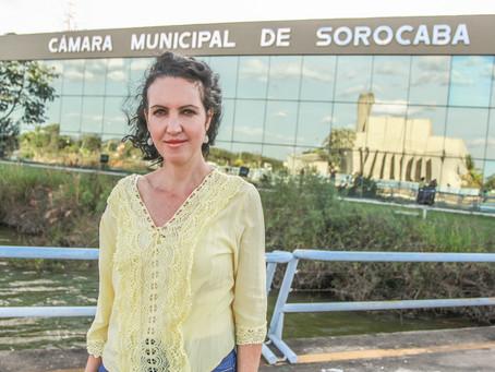 Fernanda Garcia solicita uso da TV Câmara para campanha de vacinação da Covid-19