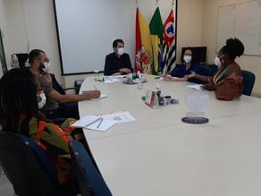 Fernanda Garcia participa de reunião com o Instituto Kayton