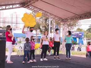 Fernanda Garcia participa de evento em memória aos 'bebês anjos'