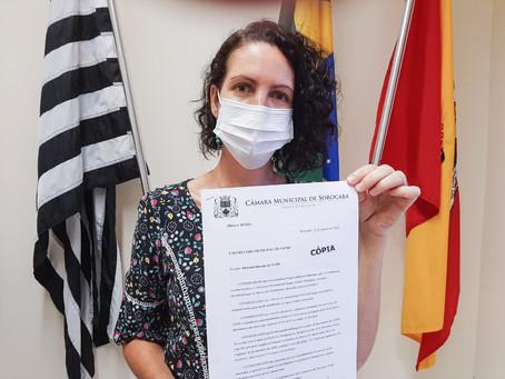 Fernanda oficia prefeitura sobre baixo número de profissionais no SAMU