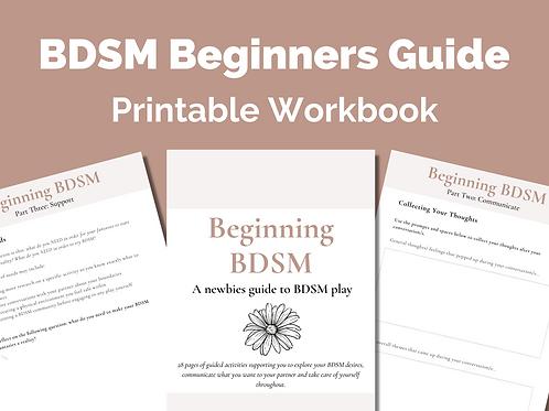 Beginning BDSM: BDSM Workbook