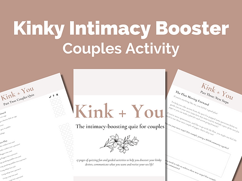 Kink & You: Couples Activity