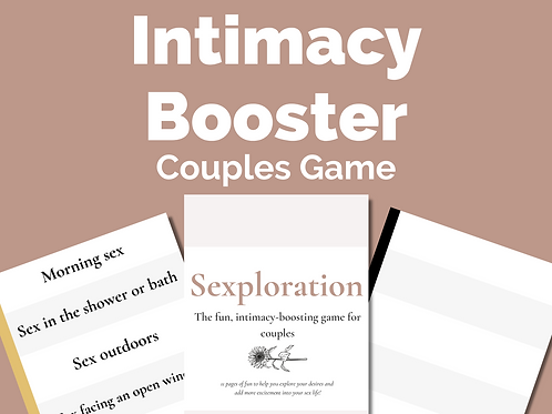 Sexploration: Intimacy Cards for Couples