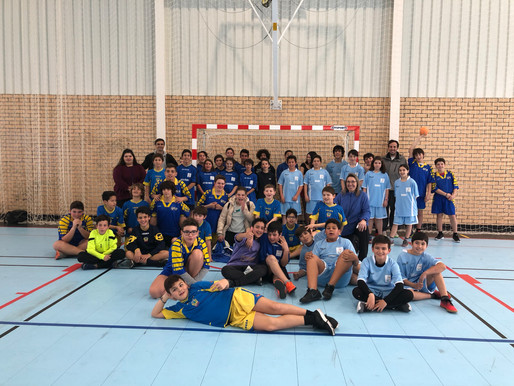 3.º Encontro Andebol Desporto Escolar