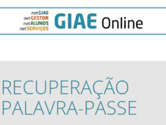 GIAE Online: Recuperar Palavra Passe