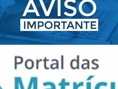 Portal das Matrículas