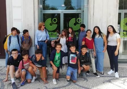 Visita de estudo ao Instituto Alemão