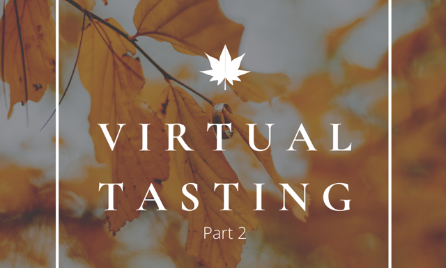 FRIDAY 10/30 - Virtual Wine Tasting Pack - CURBSIDE PICKUP