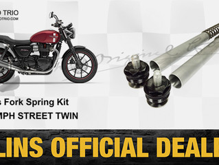 OHLINS FRONT SPRING KIT FOR TRIUMPH STREET TWIN