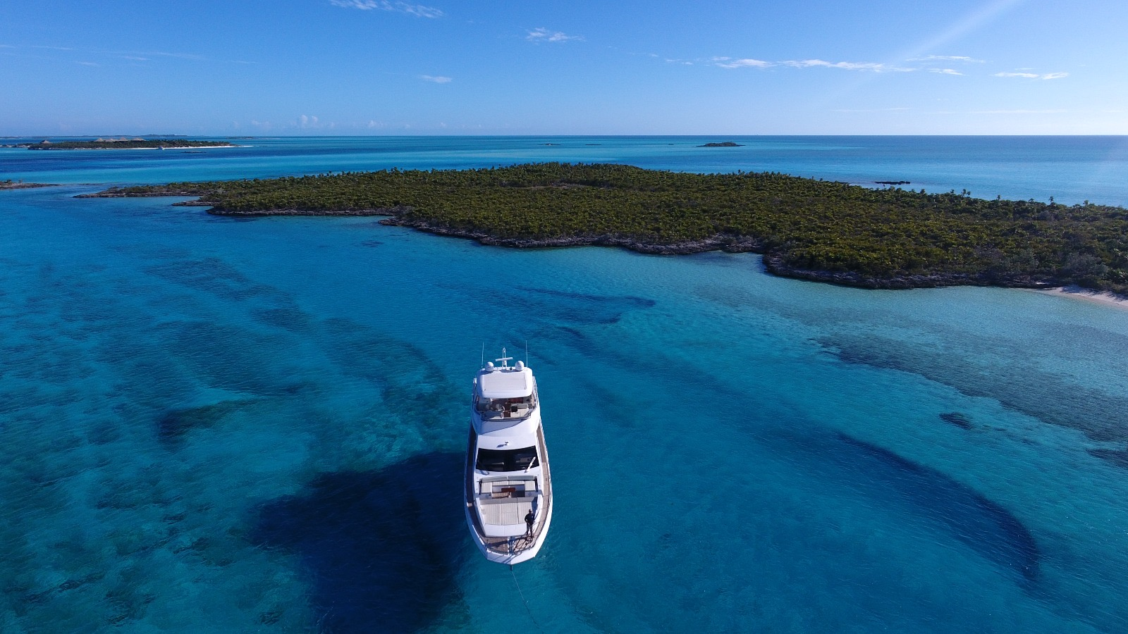 Headed to Compass Cay