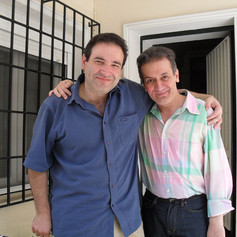 The first visit of John Psathas in Dino's house