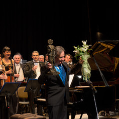 Performing as a soloist with the Nis Symphony Orchestra