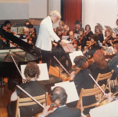 Performing with the Vratsa Philharmonic Orchestra