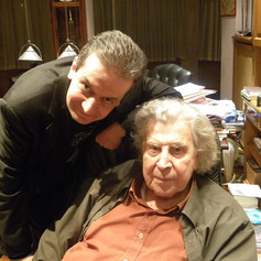 With the legendary living Greek composer MIKIS THEODORAKIS