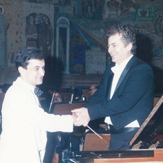 Performing with the Thessaloniki State Orchestra