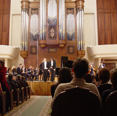 """Performing as a soloist with the Kazan Chamber Orchestra """"La Primavera"""""""
