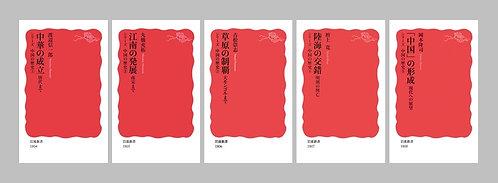 岩波新書〈シリーズ中国の歴史〉全5巻セット
