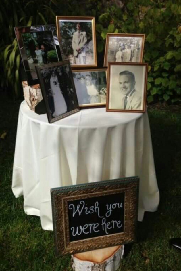 5 Ways to Honor Lost Loved Ones at your Wedding