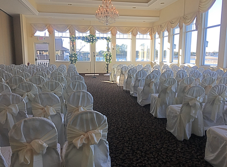 Angela and Williams wedding at The Sunset Ballroom in Point Pleasant New Jersey