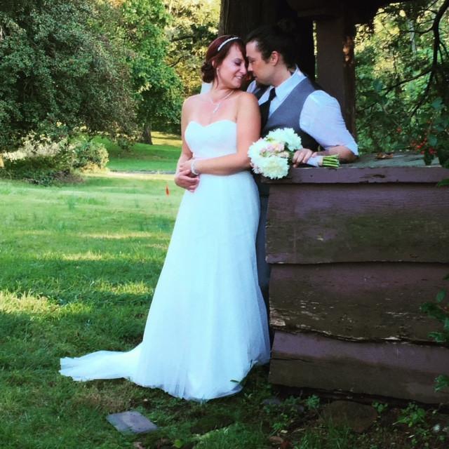 Fall wedding in Huber Woods