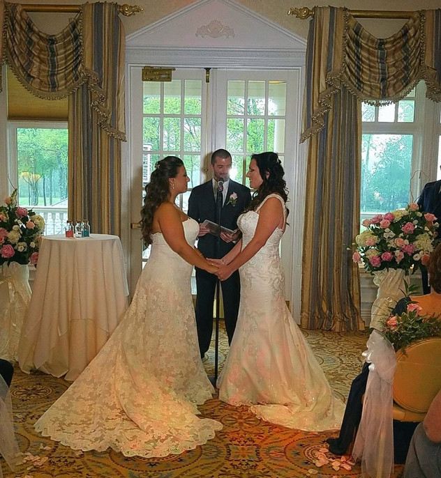 Jessica and Alison's Eagle Oaks Country Club Wedding