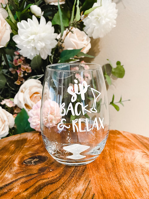 Quotes Glass, Customizable
