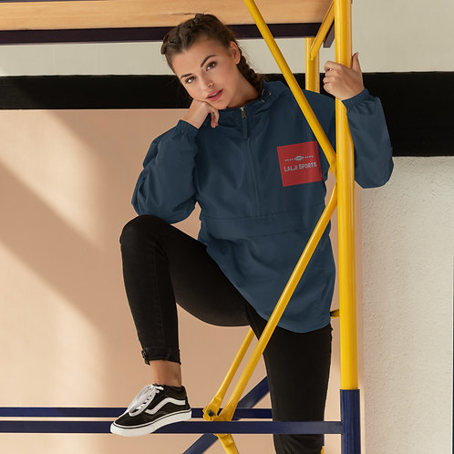 Embroidered Champion Packable Jacket - Lalji Sports