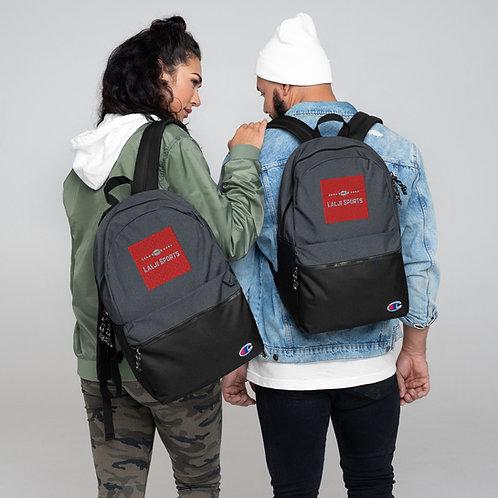Embroidered Champion Backpack - Lalji Sports