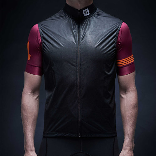 coolest cycling gilet 13 thirteen front