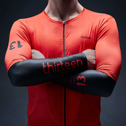 coolest cycling arm warmers 13 thirteen front