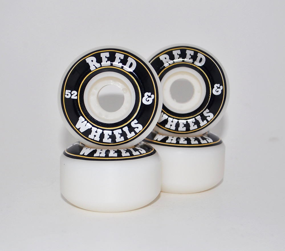 sized 52mm skateboard wheels