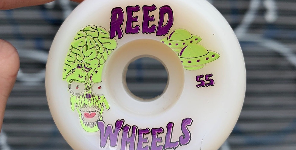 Reed Attacks! conical wheels
