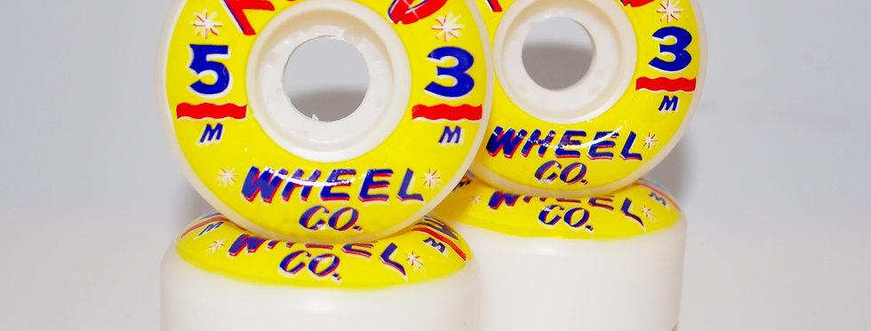 Hand Lettered wheels