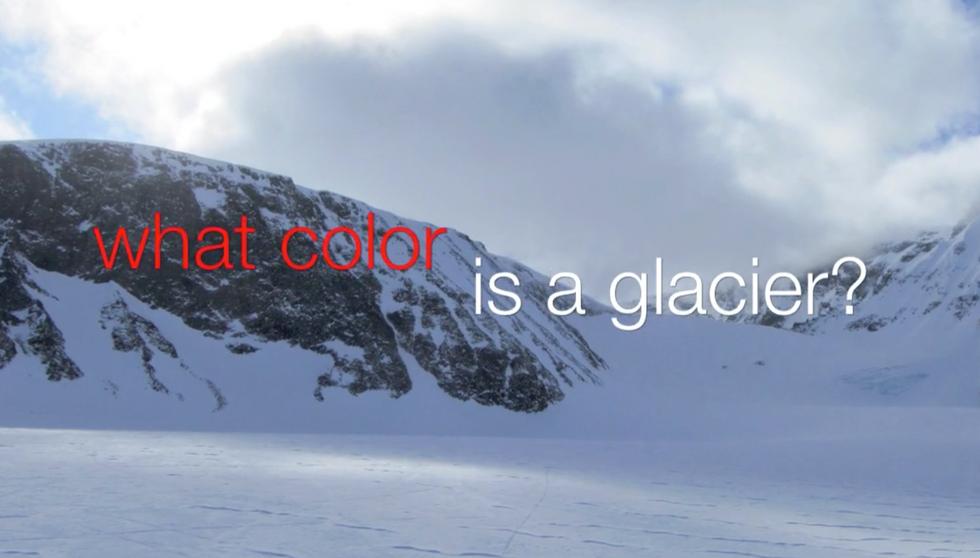 What Color is a Glacier?  (0:03:00)