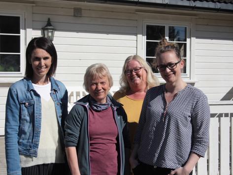 Forventning og glede i Engesland barnehage- avisa tok turen