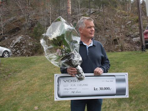 Voss stipendet på 30 000 til en hedersmann og en flott organisasjon