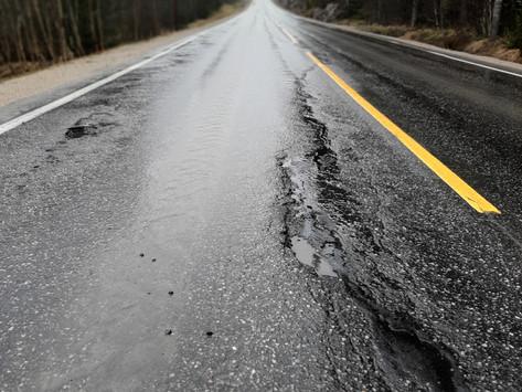Fylkesveier i Indrefileten uten vedlikehold -liv vil gå tapt