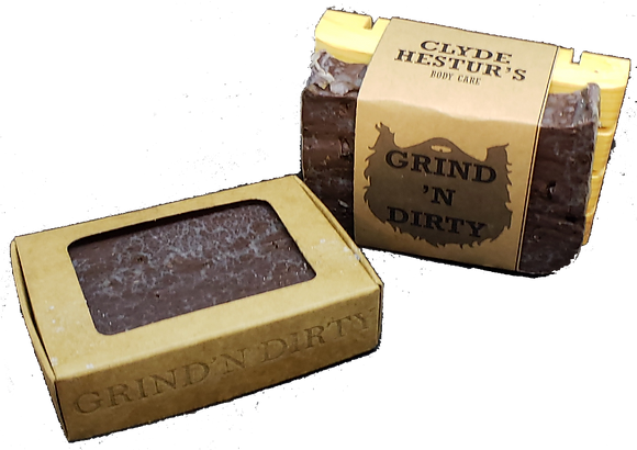 Natural Cold Press Soap - Grind 'N Dirty