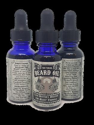 """Release the BEAST"" Beard Oil - 30ml"