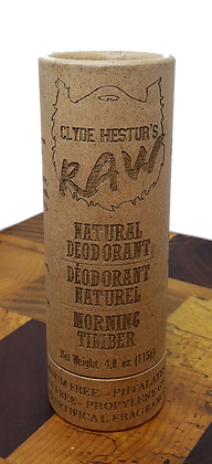 Natural Deodorant - Morning Timber