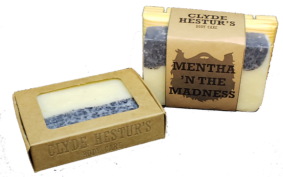 Natural Cold Press Soap - Mentha 'N The Madness