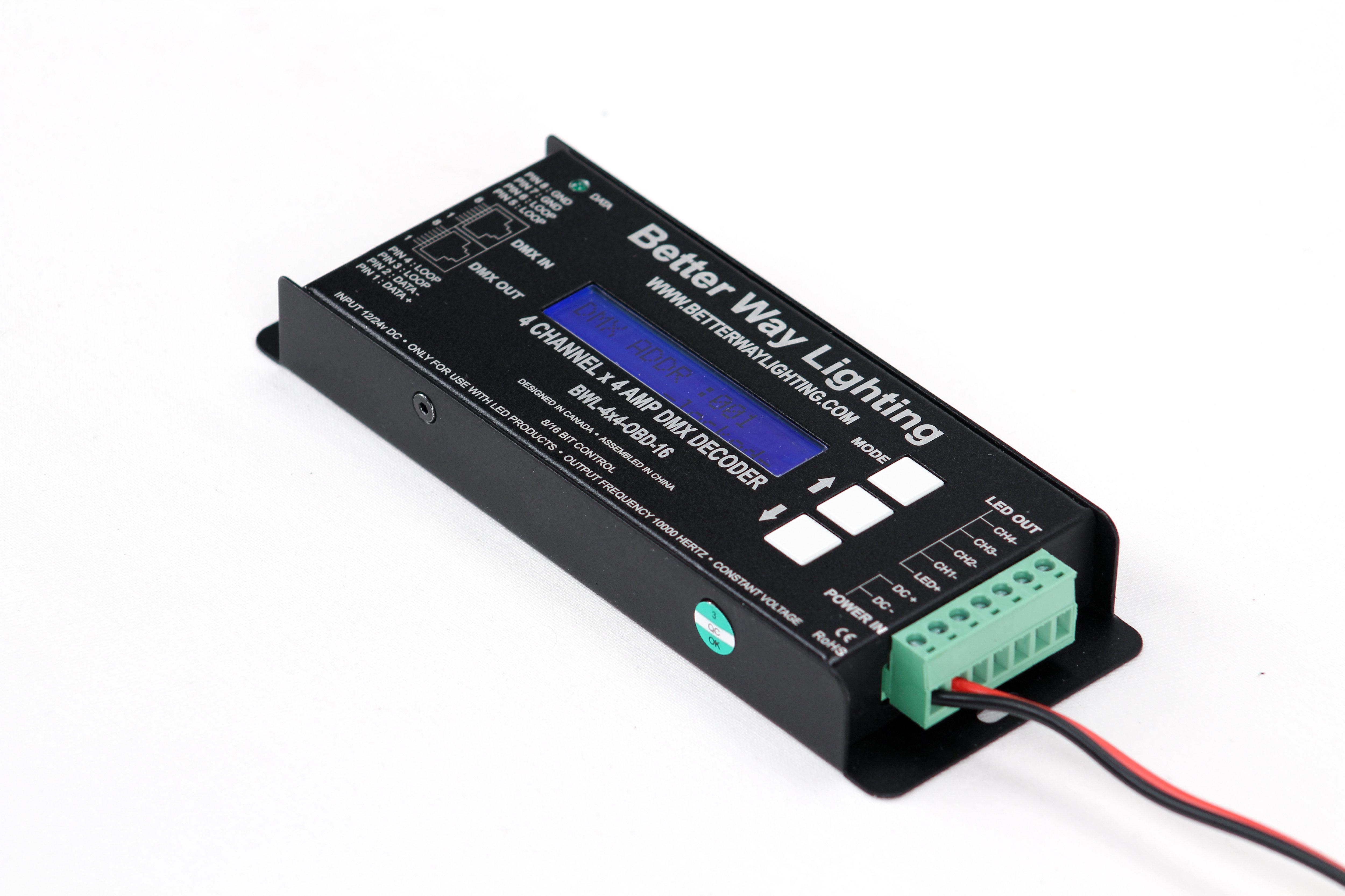 4 Channel x 4 Amp On Board Display Decoder Rental